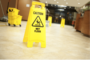 Wet Floor Signs: The Casino May Still Be Liable