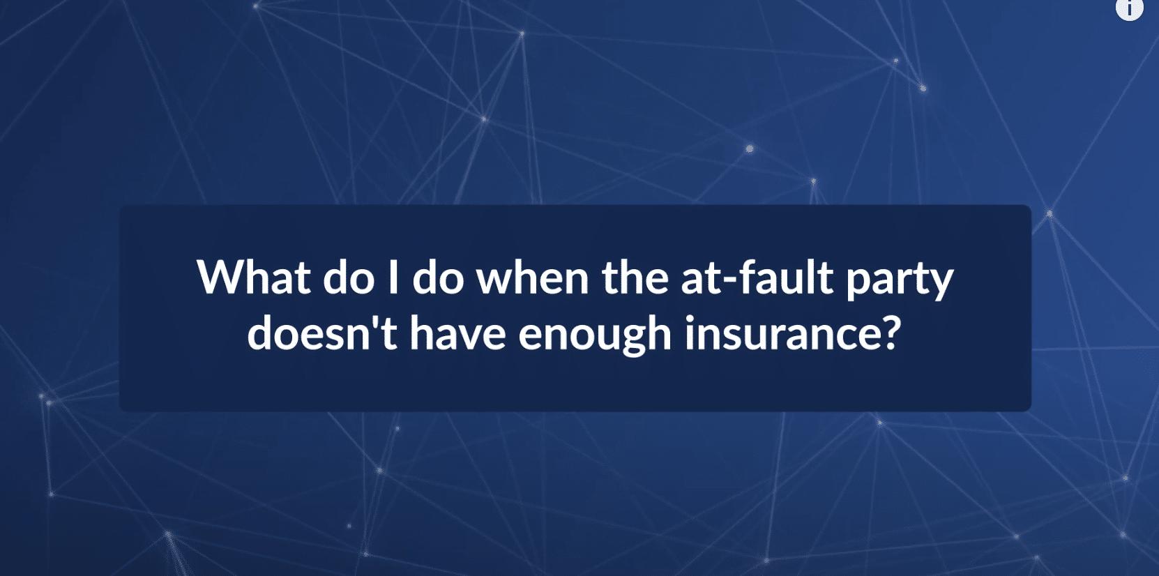 Las Vegas Attorney Chris Burk Discusses Underinsured Motorist Coverage