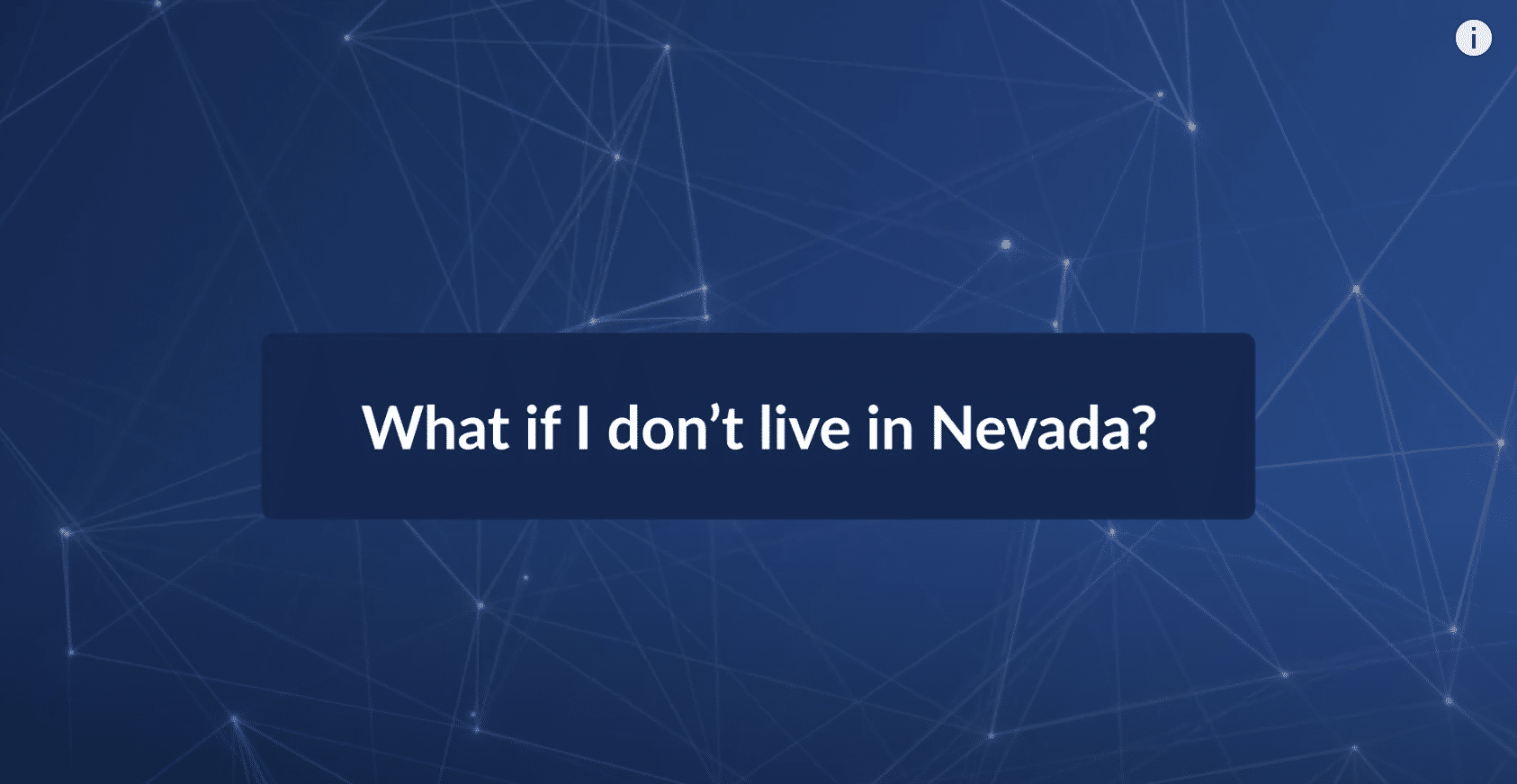 What if I'm Injured But Don't Live In Nevada?